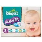 Pampers active fit 3 midi 4-9kg - 42s