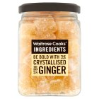 Waitrose Cooks' Ingredients crystallised ginger - 200g