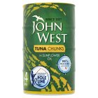 John West Tuna Chunks in Sunflower Oil - drained 4x112g