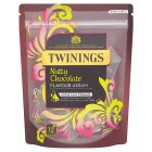 Twinings 12 nutty chocolate loose leaf pyramids - 30g