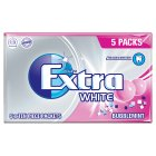 Extra 5 white bubblemint - 70g Brand Price Match - Checked Tesco.com 17/12/2014