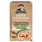 Quaker oat goodness apple & cinnamon porridge - 8x38.1g