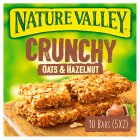 Nature Valley crunchy oats & hazelnut - 5x42g Brand Price Match - Checked Tesco.com 14/04/2014