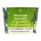 Duchy Originals organic blackcurrant yoghurt