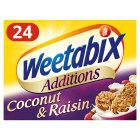 Weetabix Additions Coconut & Raisin - 24s