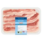 essential Waitrose British Outdoor Bred pork belly slices -
