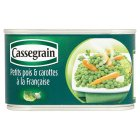 Cassegrain petits pois & carottes - drained 265g
