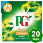 PG Tips zesty lemon green tea 20 bags - 28g