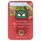 Yorkshire Wensleydale & cranberries - 90g