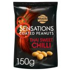 Walkers sensations Thai sweet chilli coated peanuts - 165g