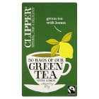 Clipper Green Tea & Lemon - 50 Bags - 100g Brand Price Match - Checked Tesco.com 16/07/2014