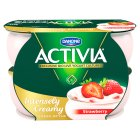 Activia Intensely Creamy sumptuously strawberry yogurts - 4x110g