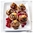 Pork, bacon & parsley stuffing tartlets -