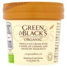 Green & Black's organic vanilla caramel nut ice cream - 100ml