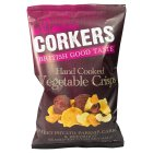 Corkers Sweet Potato Parsnip Carrot & Beetroot Crisps - 125g