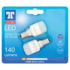 GE LED 1.6W SES - Twin Pack