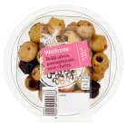 Waitrose Beldi Olives, Pomegranate, Cherry - 100g