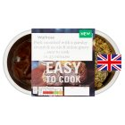 Easy to Cook pork meatloaf with ale onion gravy - 550g
