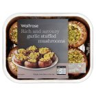 Waitrose garlic stuffed mushrooms