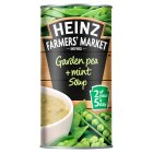 Heinz Farmers Market garden pea & mint soup - 400g Brand Price Match - Checked Tesco.com 05/03/2014