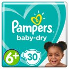 Pampers baby-dry 6+ extra large 16+ kg - 30s