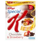 Kellogg's Special K chocolate & Strawberry - 320g Brand Price Match - Checked Tesco.com 10/03/2014