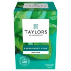 Taylors peppermint leaf wrapped tea bags, 20 pack - 32g New Line