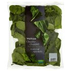 Waitrose Limited selection cooking spinach - 400g