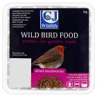 CJ Wildlife dried mealworms - 50g