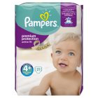 Pampers Active Fit S 4+ Carry 22 Nappies - 21s