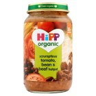 Hipp tomato, bean & beef hotpot - 250g Brand Price Match - Checked Tesco.com 05/03/2014