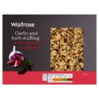 Waitrose Garlic & Herb Stuffing with Butter - 225g Introductory Offer