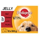 Pedigree favourites in jelly - 12x100g