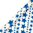 Emma Bridgwater navy star giftwrap - each