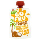 Go Fru tropical fruit & smooth coconut milk - 90g Brand Price Match - Checked Tesco.com 05/03/2014