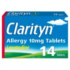 Clarityn allergy 10mg tablets - 14s