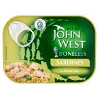John West boneless sardines in olive oil - 95g Brand Price Match - Checked Tesco.com 02/12/2013