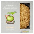 Heston from Waitrose rhubarb, apple & strawberry crumble - 500g