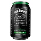 Jack Daniel's Whiskey & Ginger - 330ml Brand Price Match - Checked Tesco.com 27/10/2014