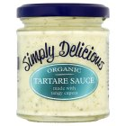 Simply Delicious organic tartare sauce - 180ml