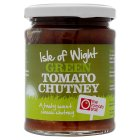 The Tomato Stall Isle of Wight green tomato chutney