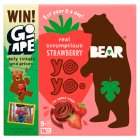 Bear for kids 100% fruit strawberry yo yos - 5x20g Brand Price Match - Checked Tesco.com 03/02/2016