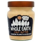 Whole Earth Cashews, Peanuts & Hazelnuts - 227g Brand Price Match - Checked Tesco.com 27/04/2016