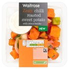 Waitrose chilli roasted sweet potato - 250g