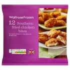 Waitrose Frozen 12 southern fried chicken bites - 260g