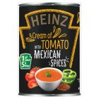 Heinz cream of tomato soup with fiery Mexican spices - 400g Brand Price Match - Checked Tesco.com 29/07/2015
