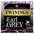 Twinings Earl Grey 200 tea bags - 500g Brand Price Match - Checked Tesco.com 24/08/2016