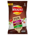Walkers do us a flavour selection 2 - 6x25g Introductory Offer