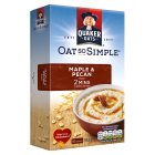 Quaker Oats Oat So Simple Maple & Pecan - 353g Brand Price Match - Checked Tesco.com 27/07/2016