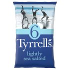 Tyrrells Lightly Sea Salted Crisps - 5x25g